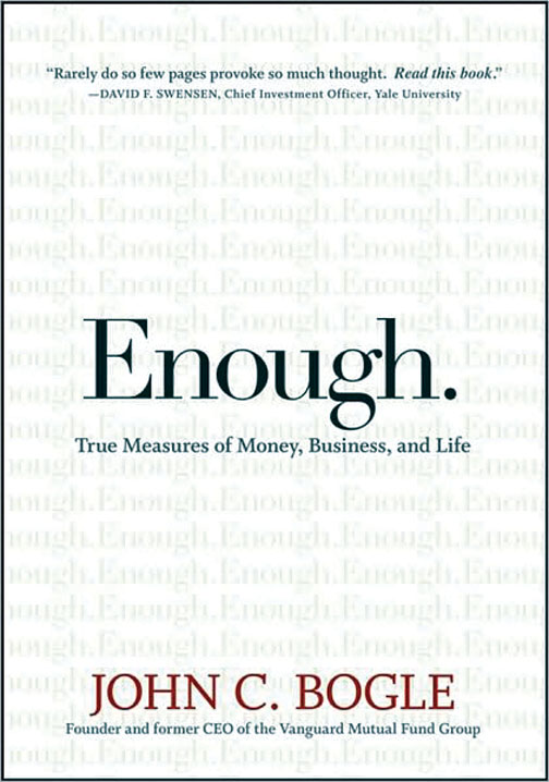 Enough by John Bogle