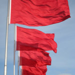 Line of Red Flags