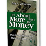 It's About More Than the money Book by Saly A. Glassman