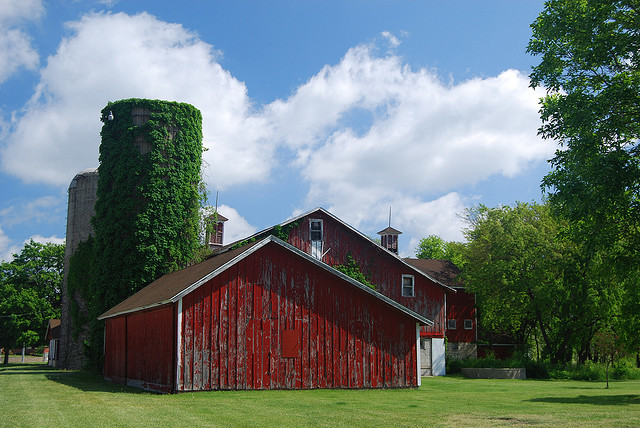 Preserved Red Barn