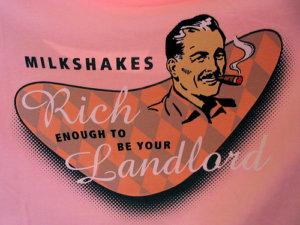 Old time Milkshake Advertisement
