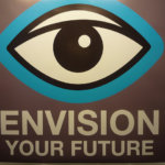 Envision Your Future Poster with Eye