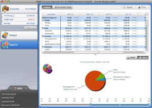 You Need A Budget Software Screenshot