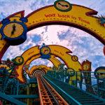 Carnival Roller Coaster Ride