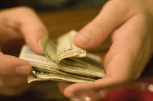 cash hands