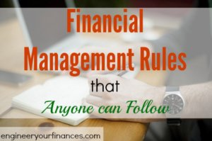 financial management, personal finance, financial rules