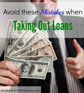 loan application, loan tips, mistakes to avoid in making a loan