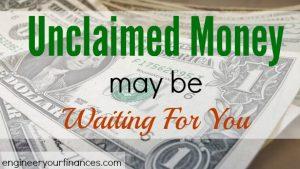 unclaimed money, extra money, unclaimed cash