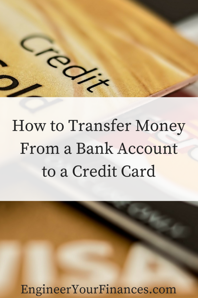 How to Transfer MoneyFrom a Bank Accountto a Credit Card