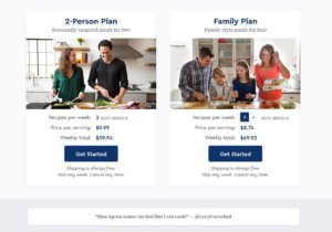 Blue Apron review pricing
