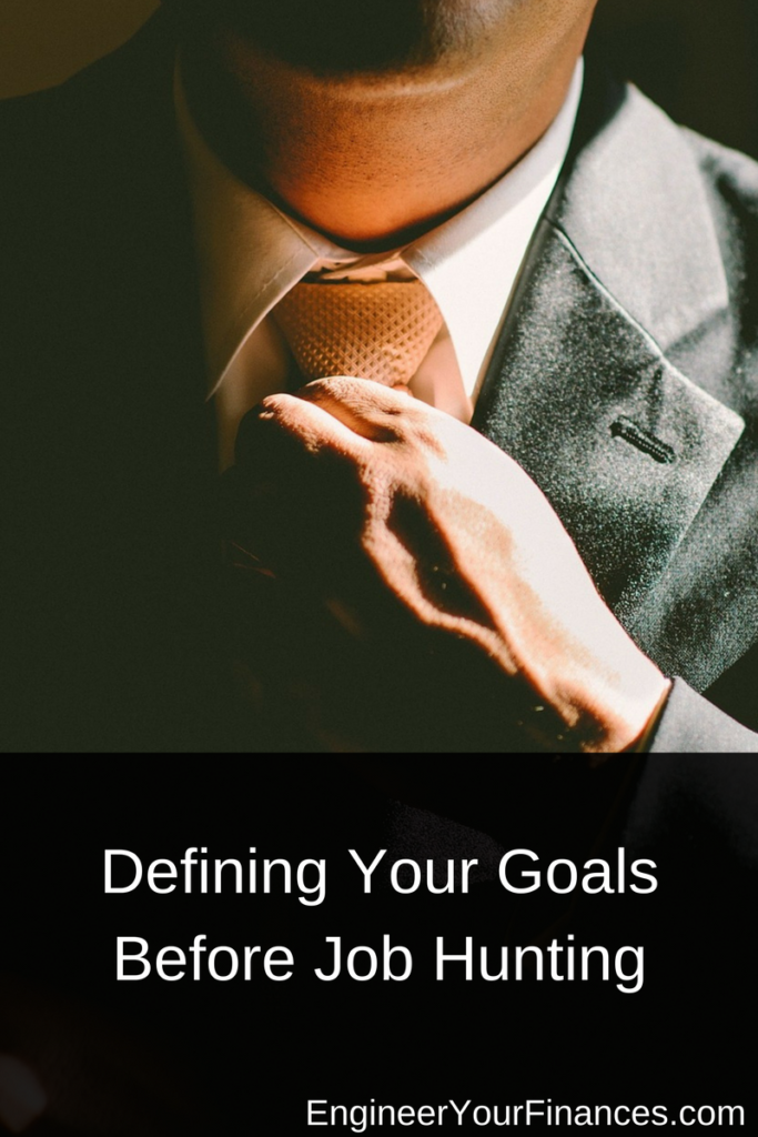 Defining Your Goals Before Job Hunting