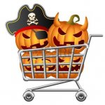 Halloween shoppers