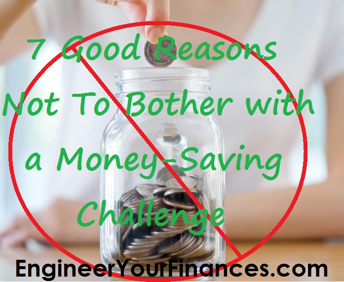 Savings challenges are for a certain kind of person and that might not be you.