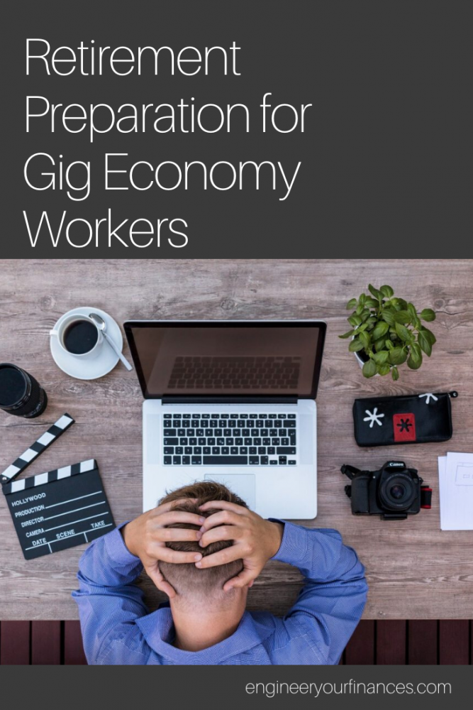 Retirement Preparation for Gig Economy Workers